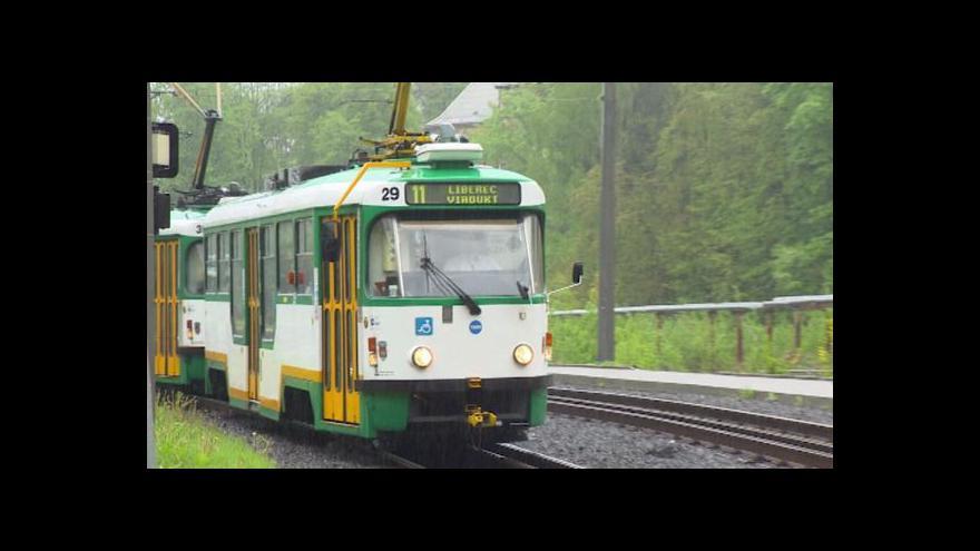 Video Liberecký kraj sníží příspěvek na meziměstské tramvaje