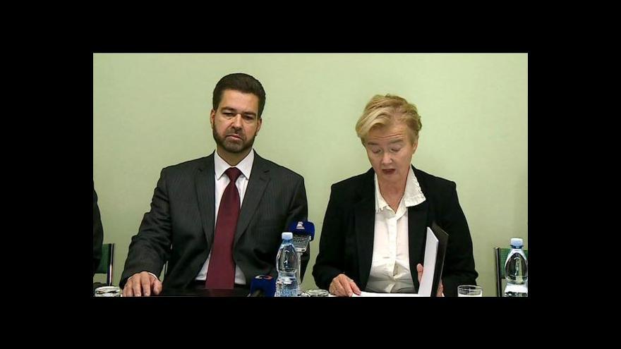 Video Brífink před zahájením odborné konference k justici