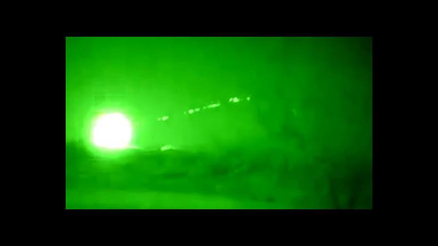 Video USA zaútočily poprvé na pozice IS v Sýrii