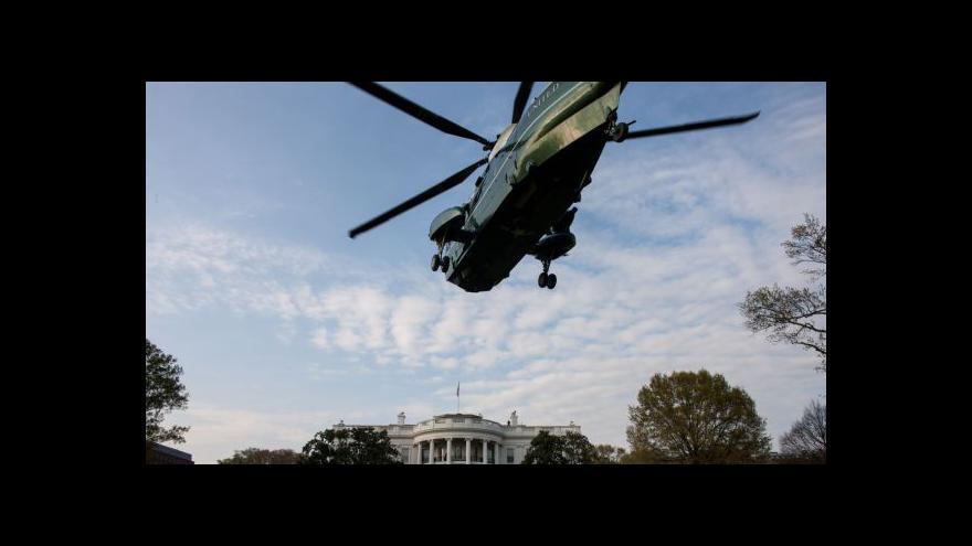 Video Horizont Martina Řezníčka k vetřelci v Bílém domě