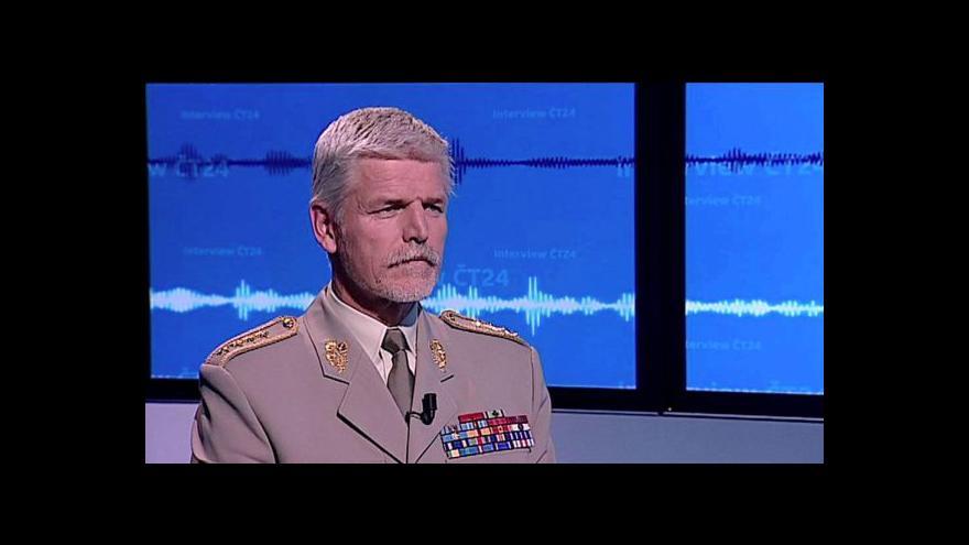 Video Interview ČT24 s Petrem Pavlem