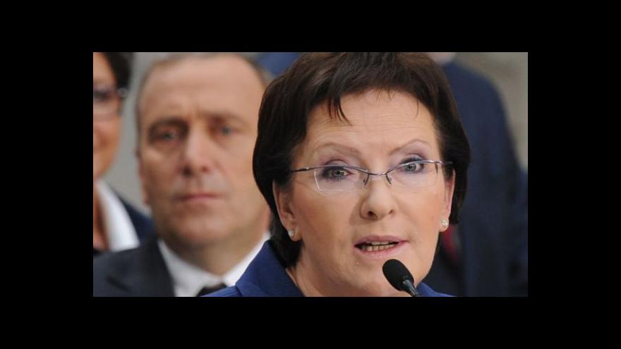Video Pazderka: Poláci dávají nové premiérce šanci