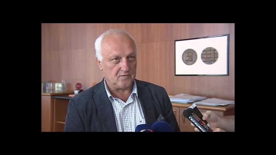 Video Rektor VUT Petr Štěpánek o rozhodnutí Rostislava Koryčánka