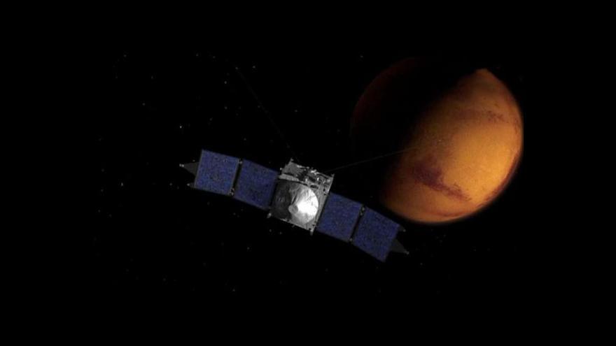 Video Horizont: K Marsu dorazila sonda Maven