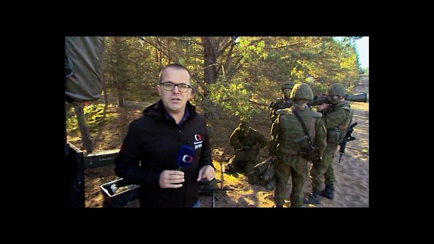 Video Pobaltí spoléhá na podporu NATO
