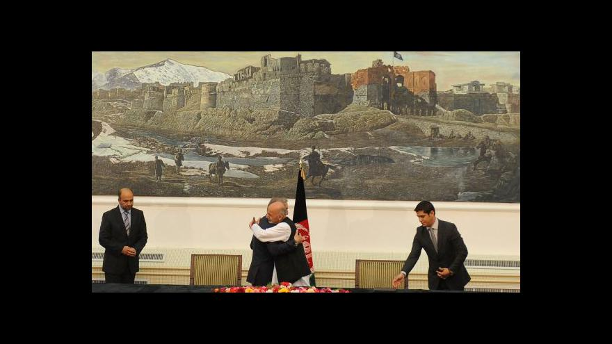 Video V Afghánistánu se dohodli na dělbě moci