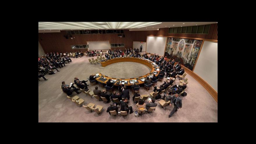 Video Rada bezpečnosti má Islámský stát za teroristy