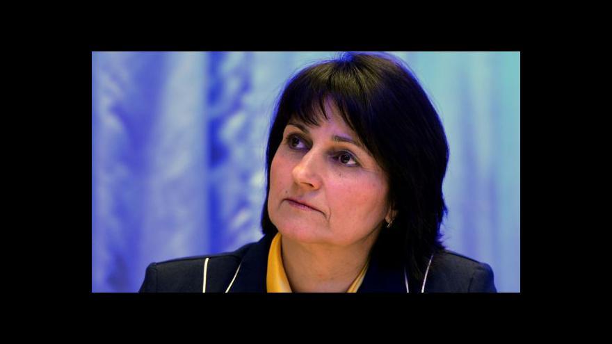 Video Michaela Šojdrová: Referendum má pozitivní výsledek