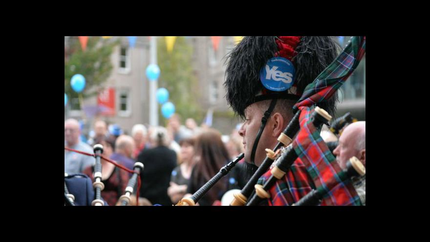Video Události: Skotsko rozhoduje o své budoucnosti