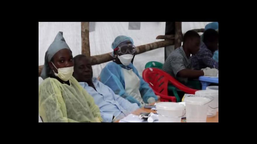 Video UDÁLOSTI: Česko přispěje k boji proti ebole