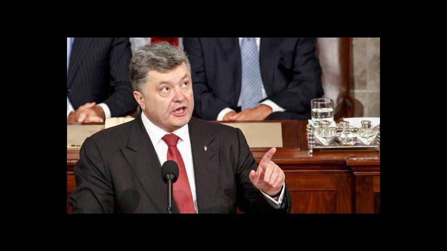 Video Projev Petra Porošenka v Kongresu USA