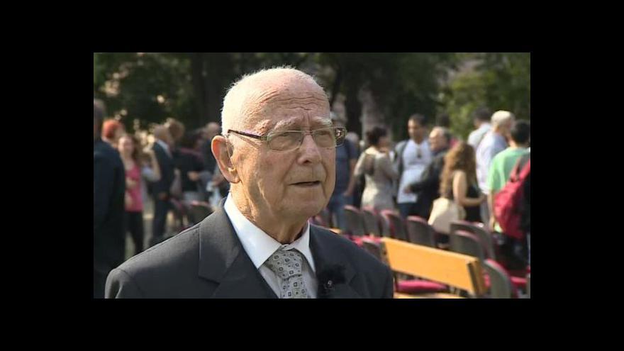 Video Na hrůzy holocaustu vzpomíná Pavel Fried
