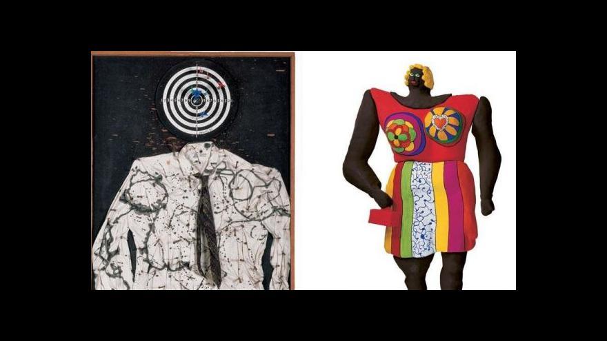 Video V Paříži vystavují Niki de Saint Phalle