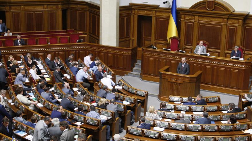 Video Beneš: Složení ukrajinského parlamentu neodpovídá rozložení politických nálad