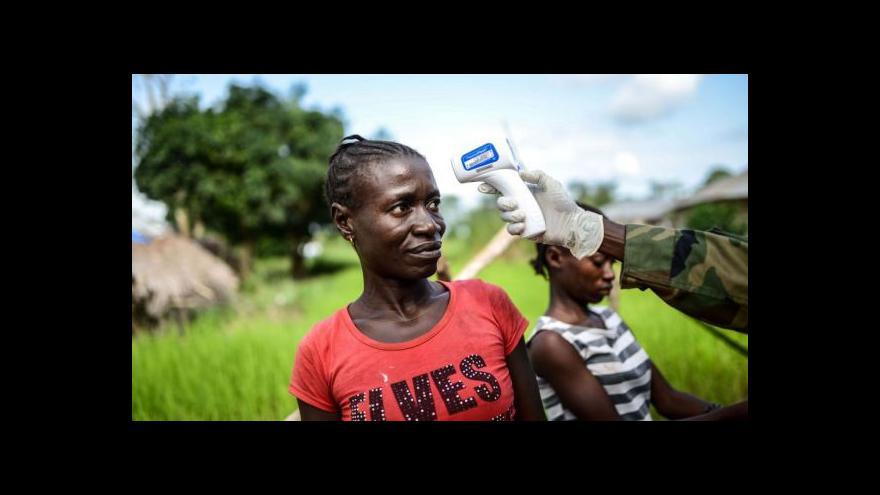 Video Studio ČT24: Svět pochopil závažnost epidemie eboly