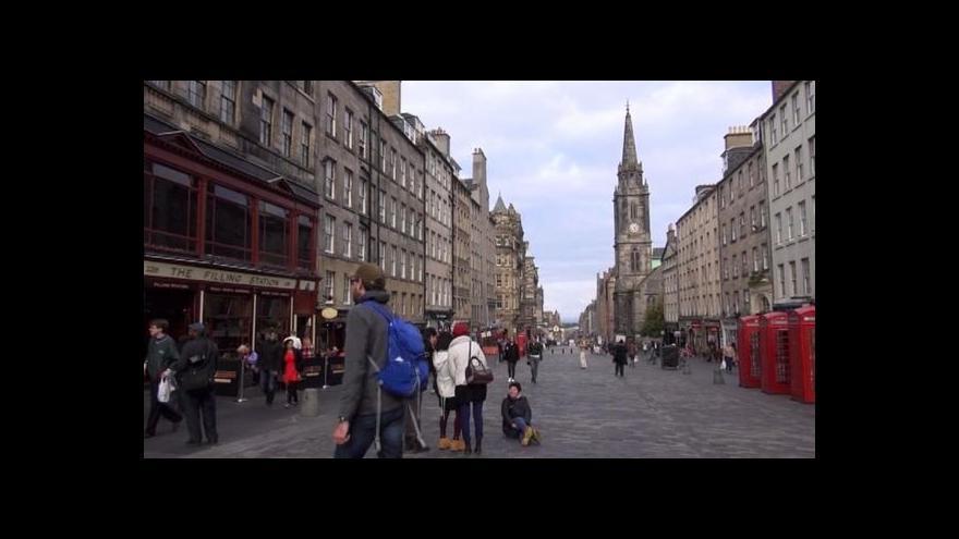 Video Skotsko žije referendem, referuje zpravodaj ČT