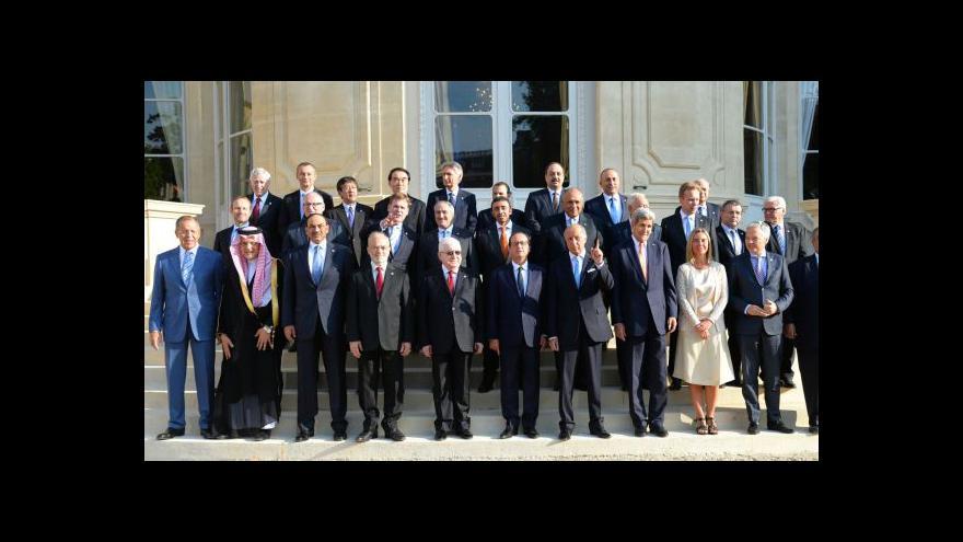 Video Pařížská konference slíbila Iráku podporu v boji proti radikálům