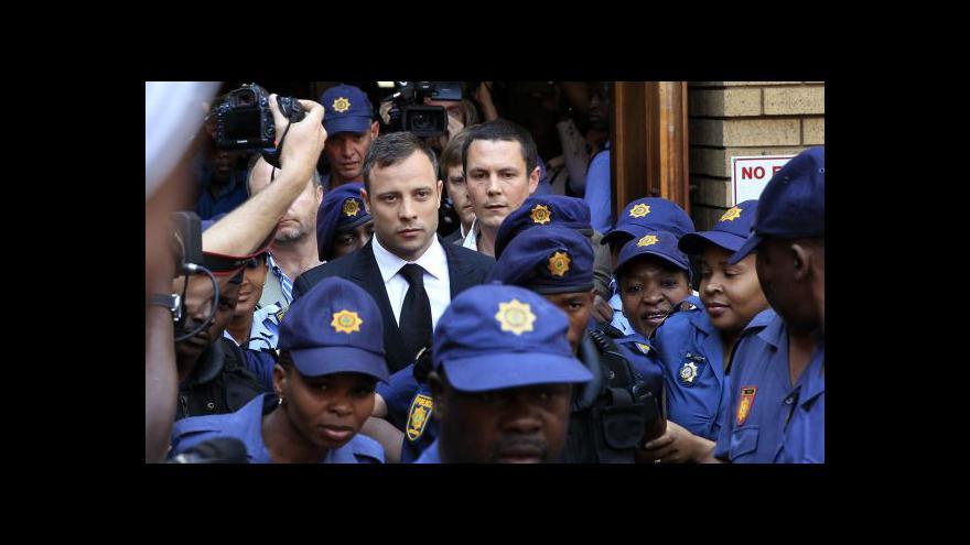 Video Pistorius si na výši trestu počká do října