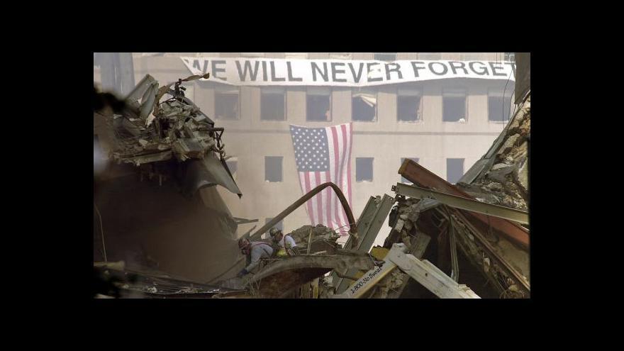 Video Marian Brzybohatý k výročím teroristických útoků na USA