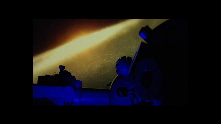 Video Podívejte se: Pražské planetárium má novou oblohu
