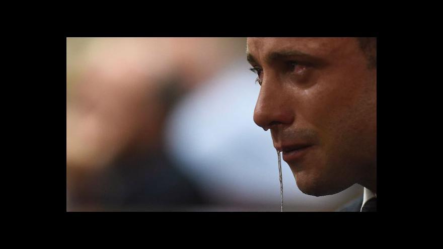 Video Události: Doživotí se Pistorius vyhnul