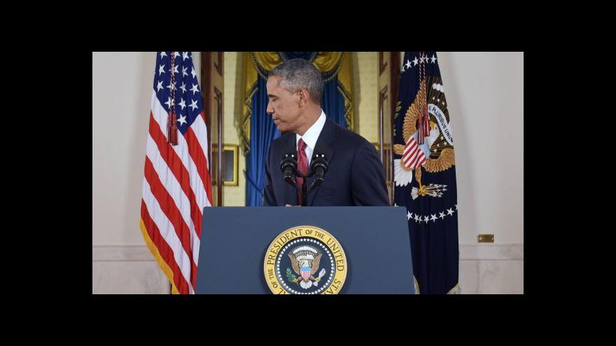 Video Obama představil strategii proti radikálům
