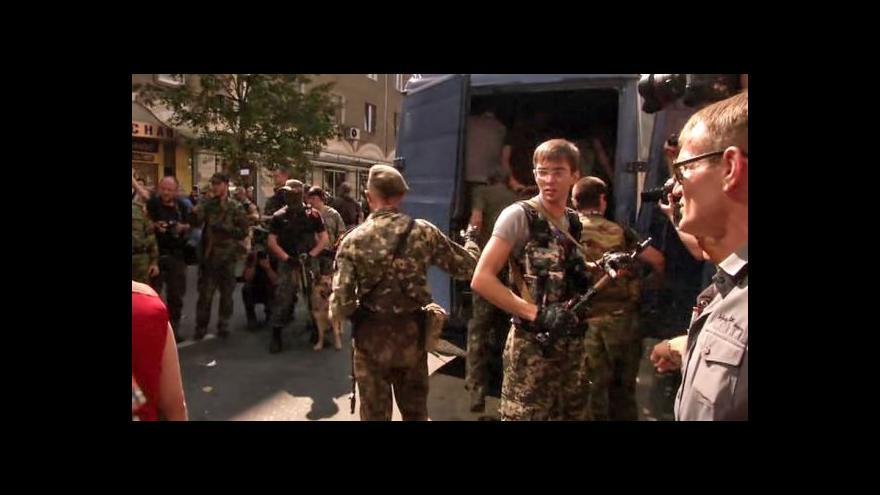 Video Horizont ČT24 o Ukrajině