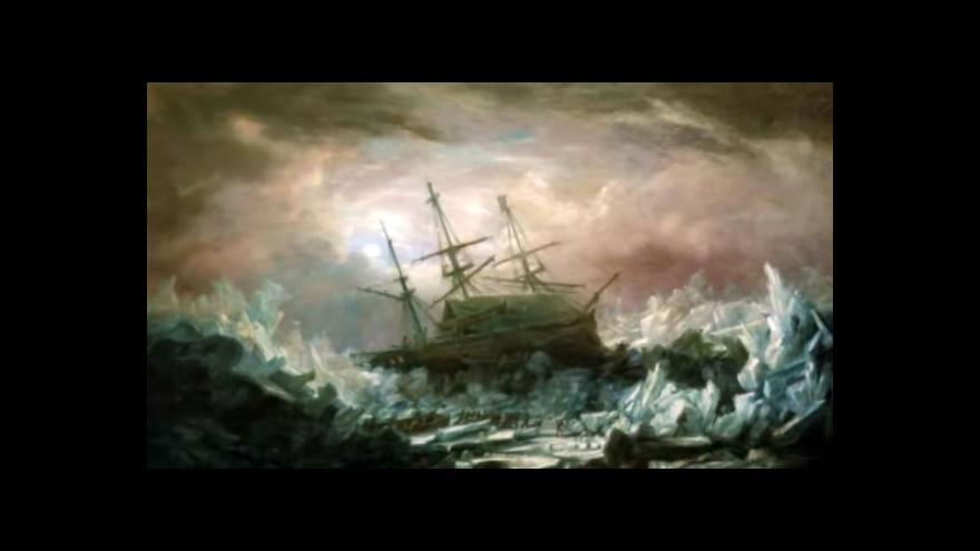 Video Kanada našla ztracenou loď z arktické expedice