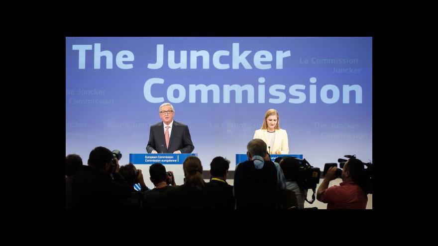 Video Jean-Claude Juncker o složení nové Evropské komise