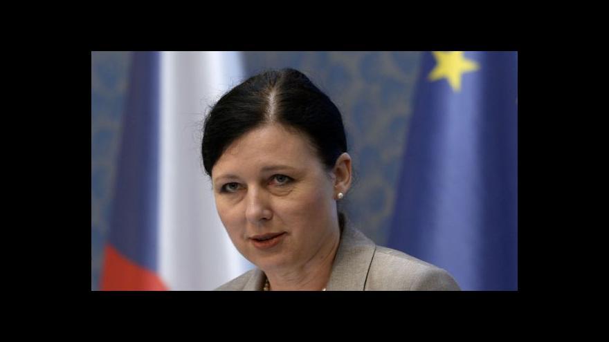 Video Jourová bude v Bruselu expertkou na spravedlnost