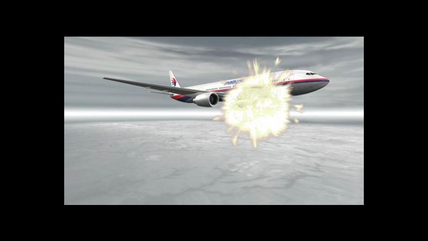 Video Vyšetřování pádu MH17 přineslo víc otázek než odpovědí
