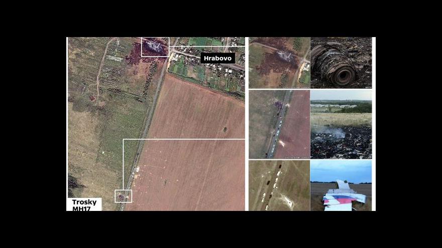 Video Události: První závěry vyšetřování pádu MH17