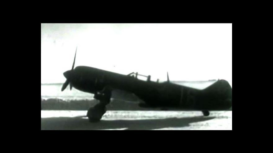 Video Historici našli v Klimkovicích trosky sovětského letounu