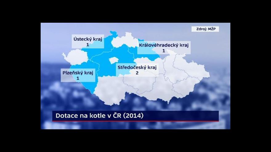 Video Události: Velký zájem o kotlíkové dotace