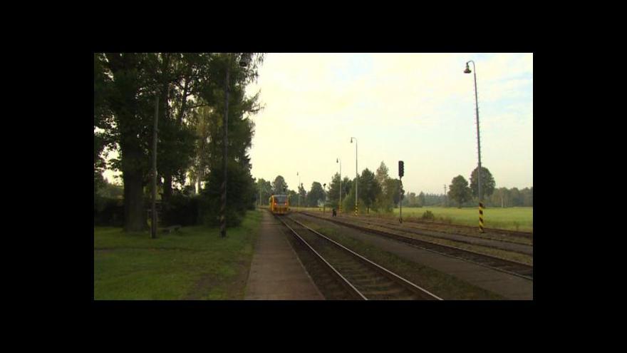 Video Rekonstrukce trati Veselí–Velenice čeká na vysoké napětí