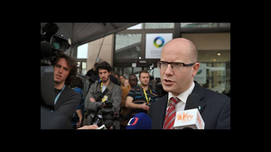 Video Sobotka prosadil v Bruselu české připomínky k sankcím
