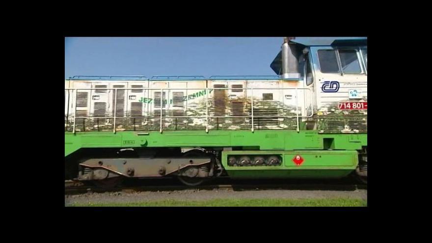 Video Mezi Hlučínem a Opavou bude jezdit lokomotiva na zemní plyn
