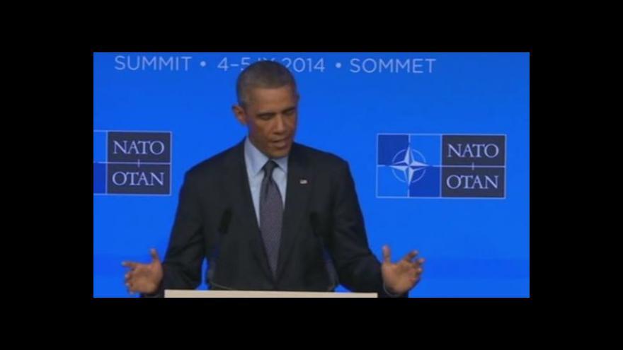 Video Obama: Budeme bránit všechny naše spojence