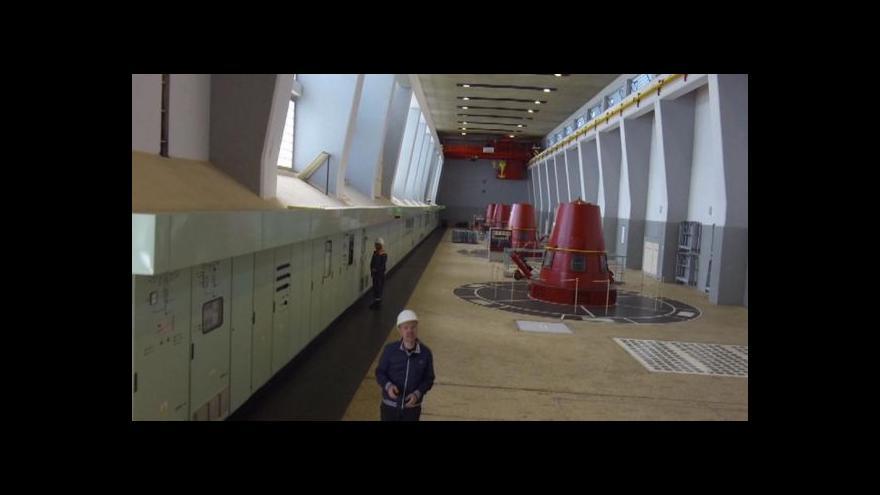 Video Rekonstrukce turbíny č. 1 skončila