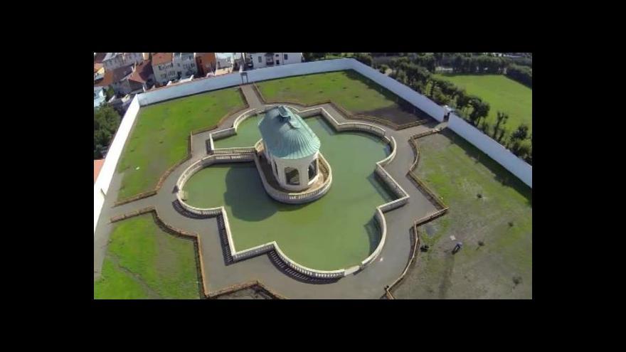 Video BEZ KOMENTÁŘE: Letecký pohled na Květnou zahradu