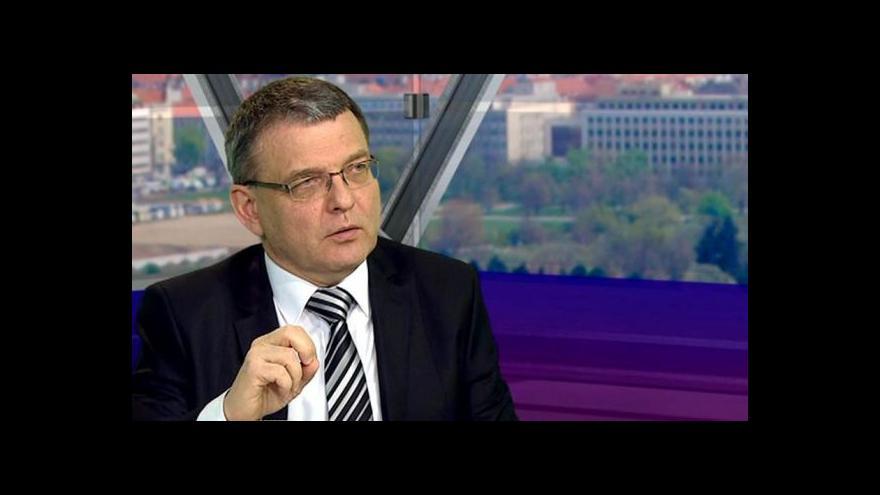 Video Zaorálek: Ministr potřebuje lidi, kteří budou dělat jeho politiku
