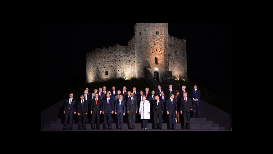 Video Skončil první den summitu NATO