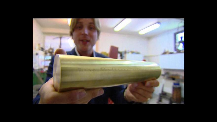 Video Podívejte se: Jak se vyrábí Chalupeckého cena?