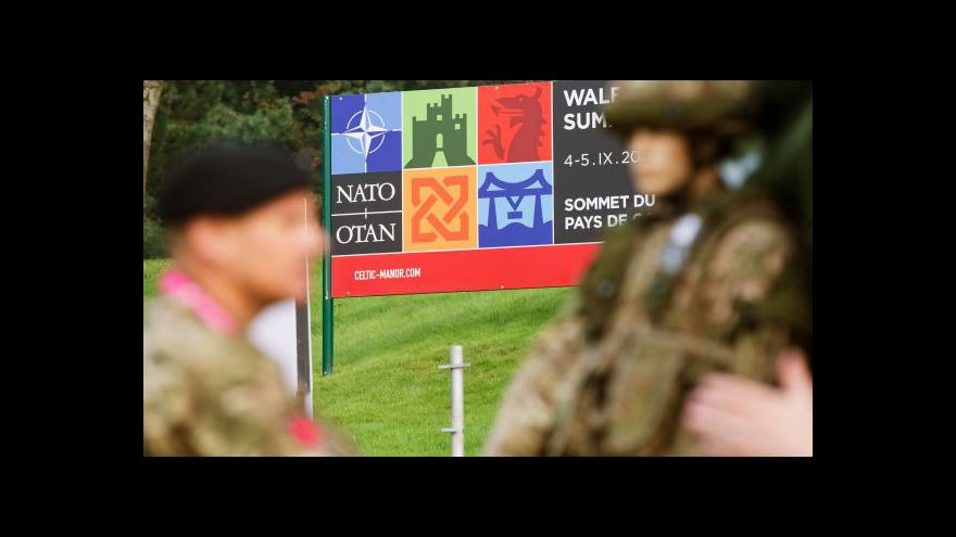 Video Události ke klíčovému summitu NATO v Newportu