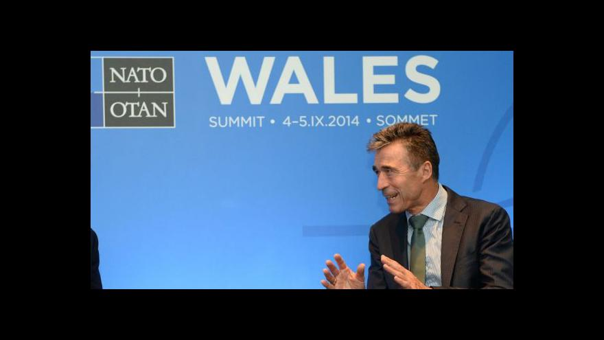 Video Brífink Anderse Fogha Rasmussena k působení ISAF