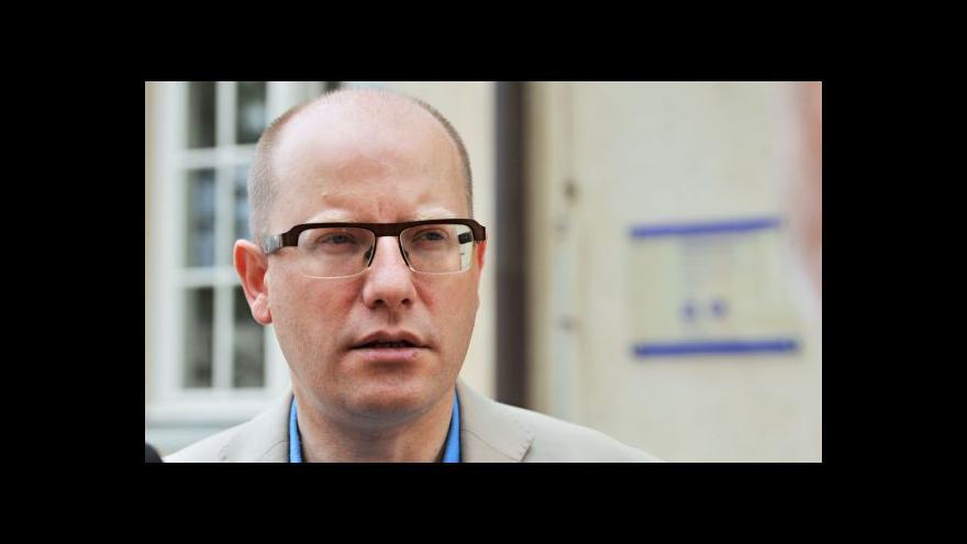 Video Premiér Sobotka k jednání tripartity, sankcím a summitu NATO