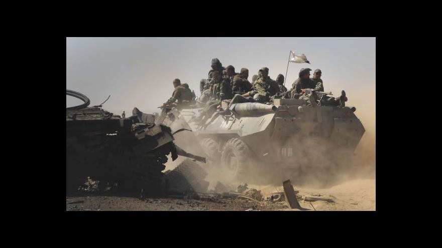 Video Na Ukrajině údajně zemřeli dva bojující Češi