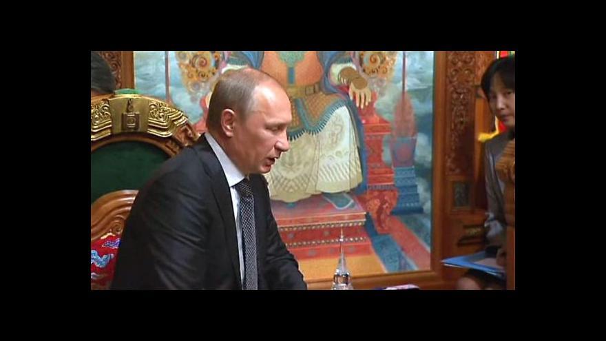 Video Horizont ČT24 k Putinově mírovému plánu