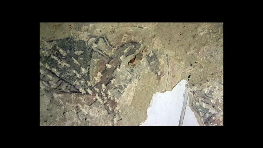 Video Kostel v Hrozové ukrývá mimořádné románské fresky.