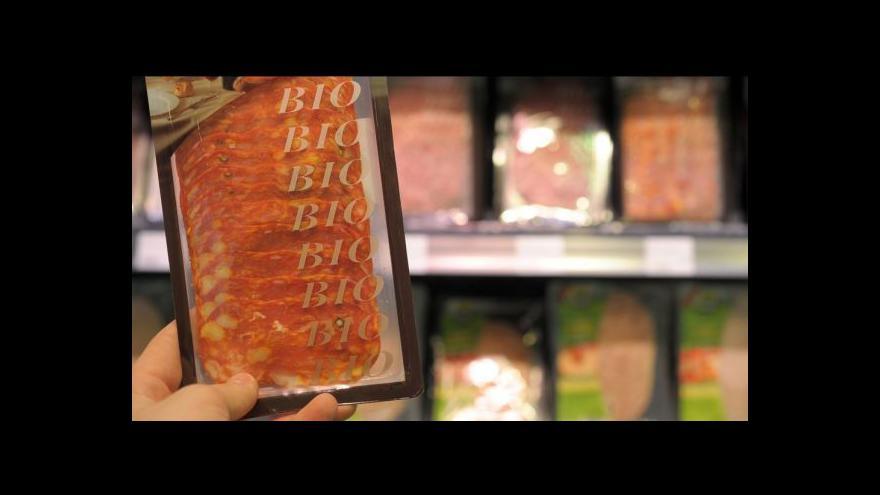Video Český trh si v maržích biopotravin libuje
